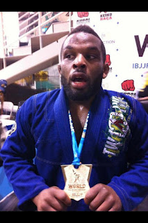 "DJ Jackson (Team Lloyd Irvin): ""I won't be satisfied until I am a black belt World champion"""