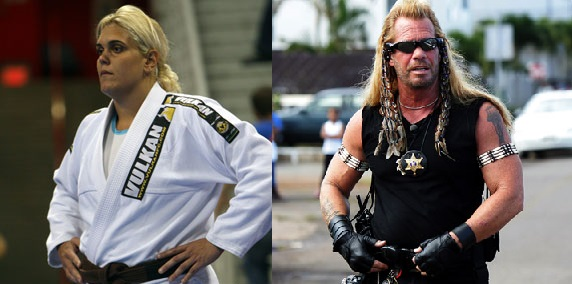 Gabi Garcia and Dog the Bounty Hunter