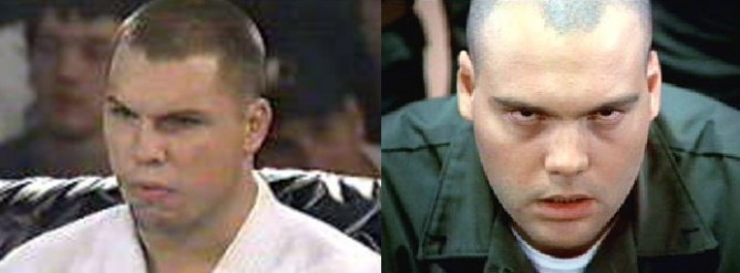 UFC vet Remco Pardoel and Private Pyle from Full Metal Jacket
