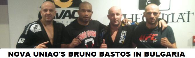 Nova Uniao black belt Bruno Bastos training in Bulgaria (23 sept-6 oct) with the UFC fighter Stanislav Nedkov