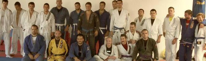 Nicholas Brooks Seminar In Split, Croatia At Roger Gracie Split