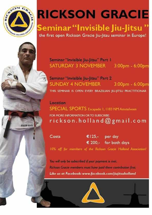 "Exclusive: Rickson Gracie ""Invisible Jiu-Jitsu"" Seminar in ..."