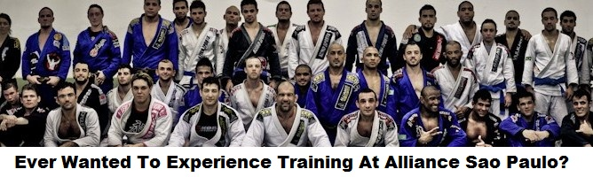 Ever Wanted To Experience Training At Alliance Sao Paulo? Check this out