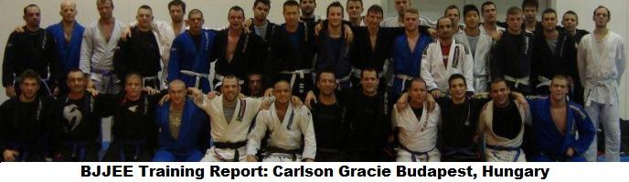 BJJEE Training Report: Carlson Gracie Budapest, Hungary