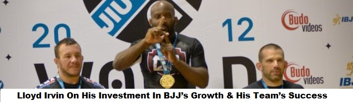 Lloyd Irvin On His Investment In BJJ's Growth, His Team's Success & Keenan's Performance @Copa Podio