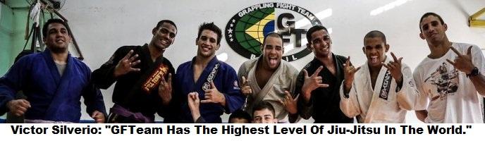 "Brazilian Brown Belt Champ Victor Silverio: ""GFTeam Has The Highest Level Of Jiu-Jitsu In The World."""