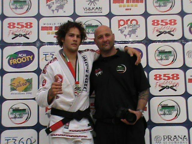 Magid Hage IV and his dad BJJ Black Belt Magid Hage