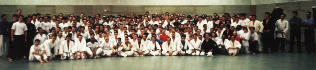 Rickson Gracie 1995 seminar in Paris