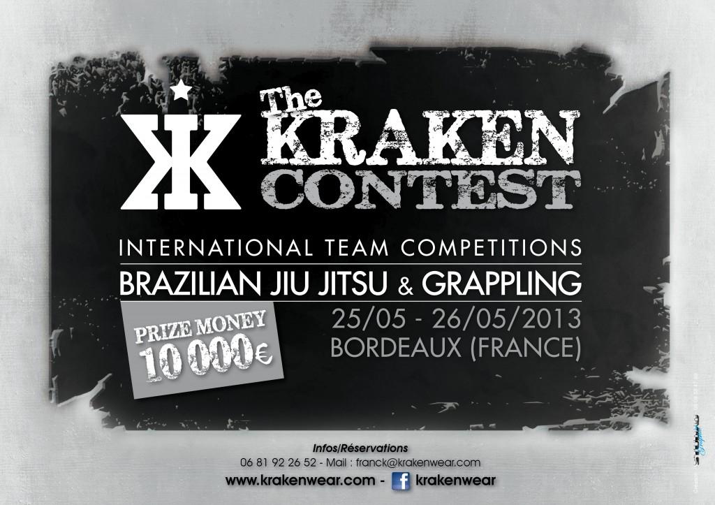 Affiche A4 Kraken Challenge