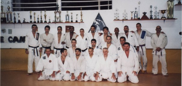 French White belts at the mighty Alliance team in 1997