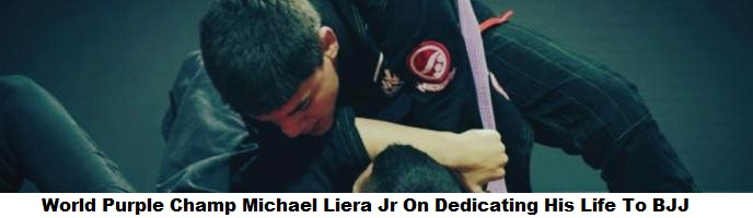 World Purple Champ Michael Liera Jr On Dedicating His Life To BJJ & Training At Atos