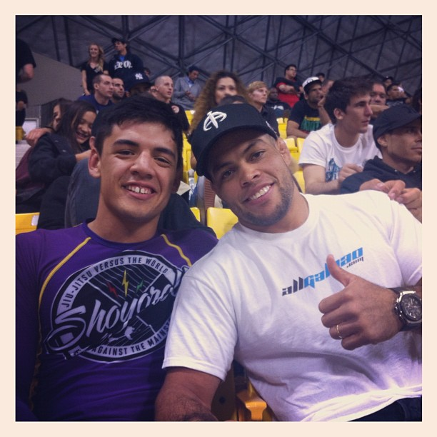 Michael with Andre Galvao