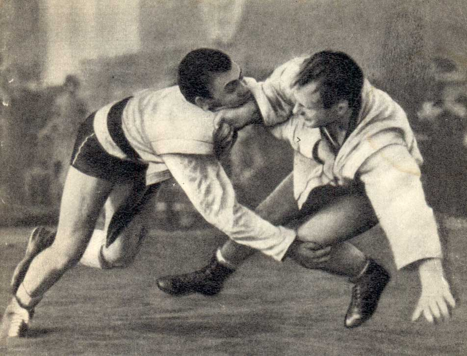 The First Sambo-Judo Challenge Matches