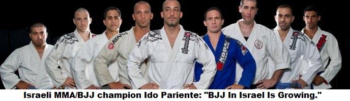 """Israeli MMA/BJJ champion Ido Pariente: """"BJJ In Israel Is Growing."""""""