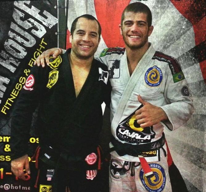 Leo Vieira with Rafael Marangoni