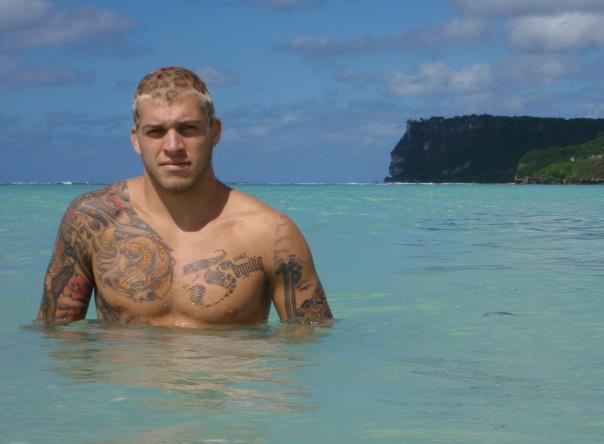 "Mike Fowler: ""I love the island lifestyle and I love Jiu-Jitsu."""