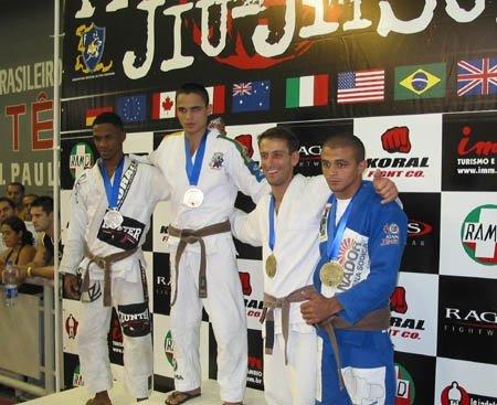 2005 Mundials-World Championships. Rio de Janeiro, Brazil.  Adult Flyweight Brown Belt Men's Division. Bronze Medal