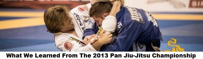What We Learned From The 2013 Pan Jiu-Jitsu Championship