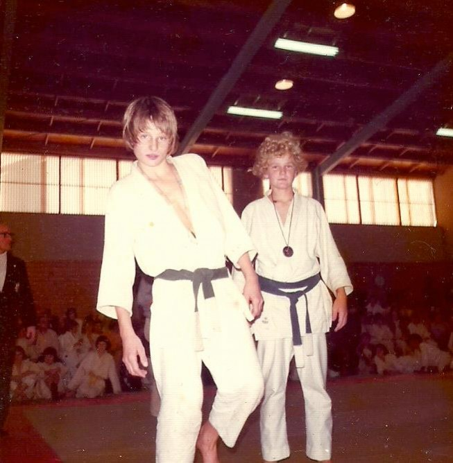 Stephen as a young Judoka