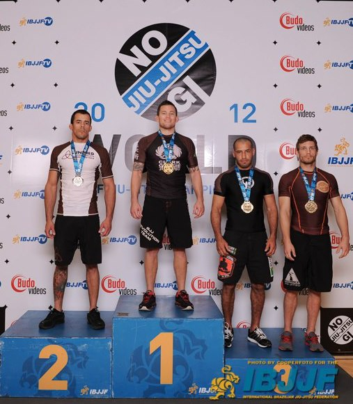 Brandon Magana taking gold at world no gi at brown belt