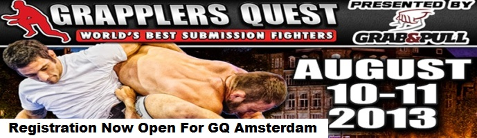 Registration Now Open For Grapplers Quest Amsterdam