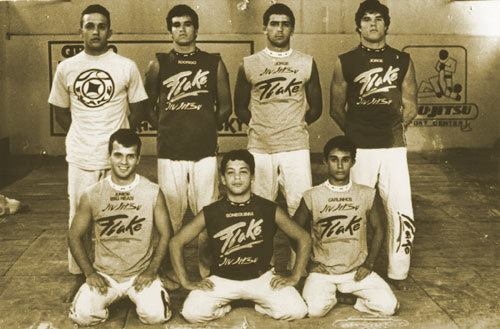 Old school Jorge (top right)