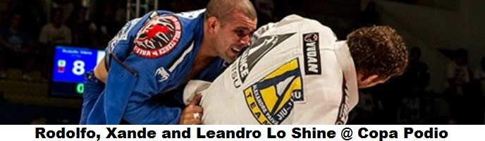 Rodolfo, Xande and Leandro Lo Shine @ Copa Podio