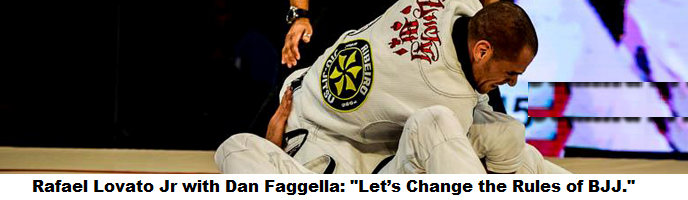 "Rafael Lovato Jr with Dan Faggella: ""Let's Change the Rules of BJJ."""