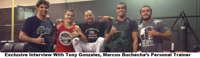 Exclusive Interview With Tony Gonzalez, Marcus Buchecha's Personal Trainer