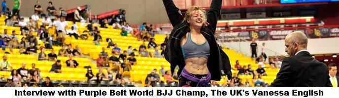 Interview with 2013 Purple Belt World BJJ Champ, The UK's Vanessa English