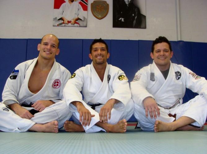 With Saulo and Xande Ribeiro