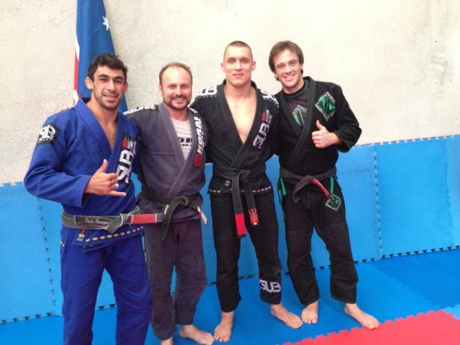Paul Stolyar (black gi, second from right)