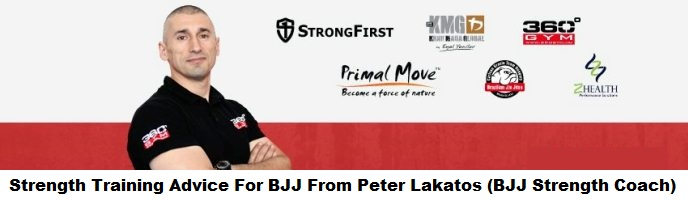 Peter Lakatos, Strength Coach For Carlson Gracie Hungary, Gives Some Solid Strength Training Advice For BJJ Players