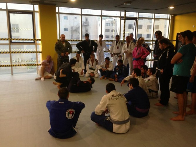 The new state of the art BJJ academy in Amman , Jordan