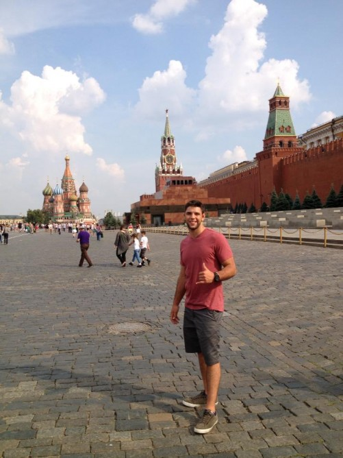 In Moscow, Red Square