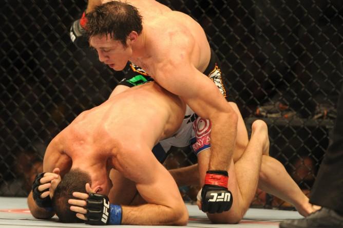 MMA: UFC 162-Gracie vs Kennedy