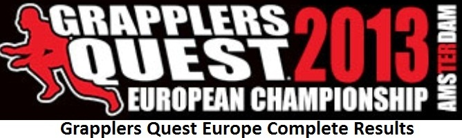 Grapplers Quest Europe Complete Results