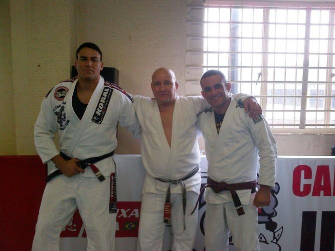 Wilson Junior, Carlson Gracie Junior and Alain