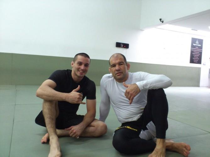 Mateja with Fabio Gurgel