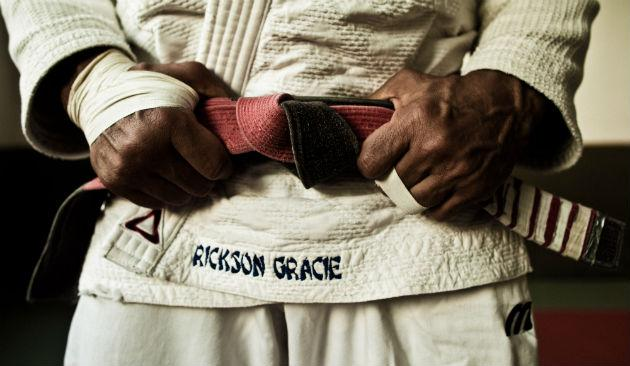 "Rickson Gracie: ""When you train, you should put more emphasis on learning than on competing with your partner."""