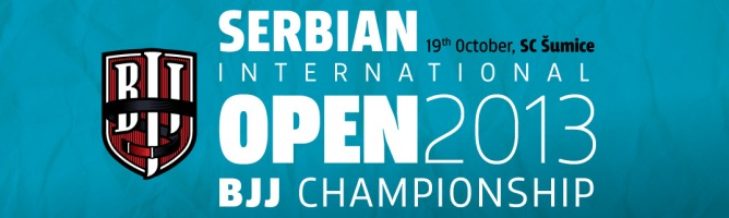 Serbian Open BJJ Championship 2013, 19th October, Belgrade, Serbia