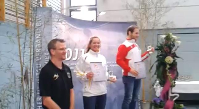 Female BJJ Player, Janni Larsson Enters Men Division @German Open & Takes 2nd Place