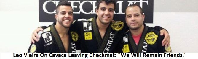"""Leo Vieira On Rodrigo Cavaca Leaving Checkmat: """"We Will Remain Friends."""""""