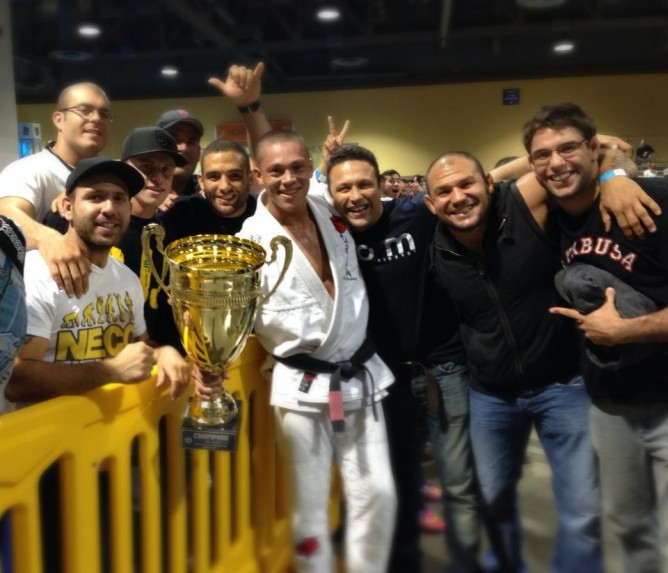Ricardo Rezende wins the black belt GP