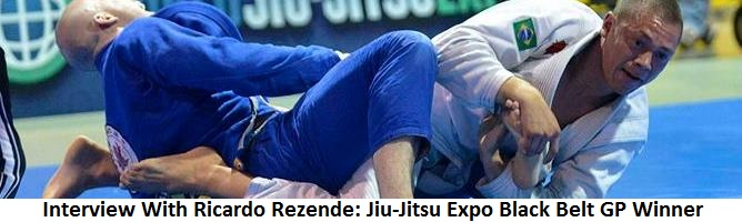 Interview With Ricardo Rezende: Jiu-Jitsu Expo Black Belt GP Winner