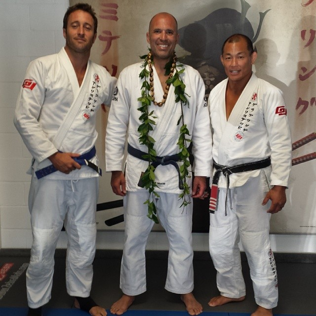 Alex, Royce and Egan together at a seminar in Hawaii.