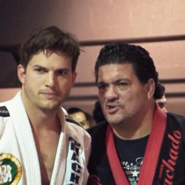 Ashton Kutcher Talks About His Wrestling Background & His Jiu-Jitsu Training; & He's Humble About It