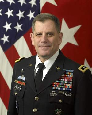 Lt. Gen. Mike Ferriter is the commanding general of Installation Management Command. (Army)