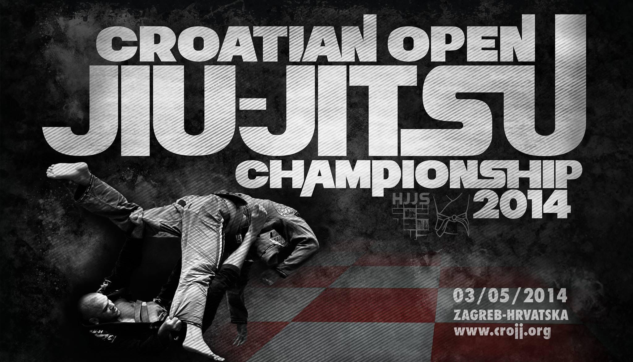Croatian Open BJJ Championship, Zagreb, Croatia 3.5.2014