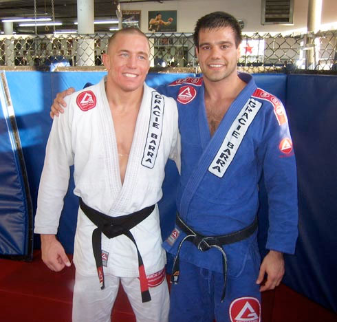 GSP's BJJ Coach Bruno Fernandes (Assistant Professor At McGill University): 'To Move Forward In Life You Have To Keep Facing Challenges'
